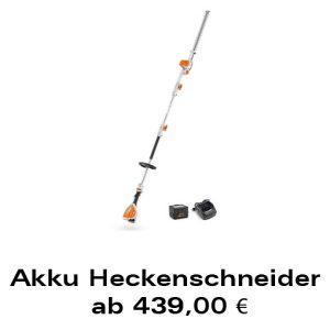 Akku-Heckenschneider