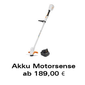 Akku-Motorsense