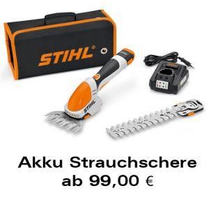 Akku-Strauchschere